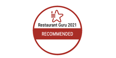 Recommended by Restaurant Guru 2021