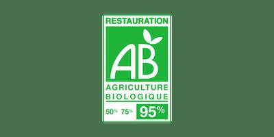 Certifié Agriculture Biologique - Restauration 95%