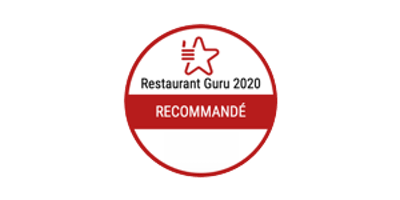 Recommended by Restaurant Guru 2020