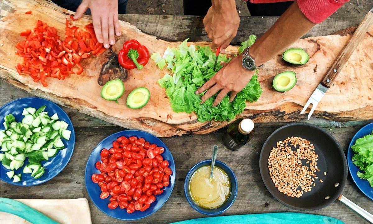 Cours de cuisine - légumes de saison
